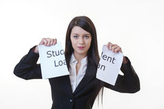Beat the money problem Stock Images