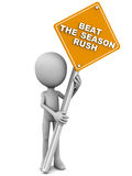 Beat the season rush Royalty Free Stock Images
