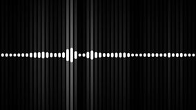 Beat spectrum matte stock video