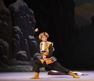 "Beat tiger boxing-Peking Opera ""Taking Tiger Montain By Strategy"" Royalty Free Stock Photos"