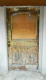 Beat-up Entry Door Royalty Free Stock Photography