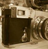 Beat Up Old Camera Royalty Free Stock Photo