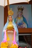 Beata Mundi Regina & x28; Virgin Mary& x29; Fotografia de Stock