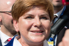 Beata Szydlo Image stock