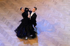 Beata Vaszi Reka and Fodor Norbert-Csanad - ballroom dancing Stock Photos