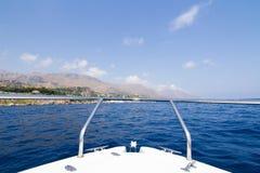 Beatifoul land i Sicilien Royaltyfria Bilder