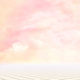 Beatiful  background. Beatiful fantasy place with sky and floor. background Royalty Free Stock Photography
