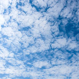 Beatiful blue sky Stock Photo
