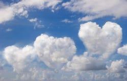 Beatiful blue sky Stock Image