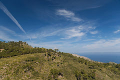 Beatiful blue sky Royalty Free Stock Image