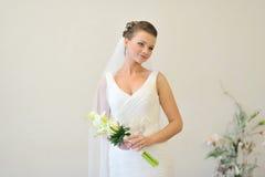Beatiful bride portrait Stock Photos