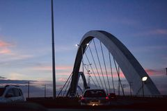 Bridge Juscelino Kubitschek royalty free stock images