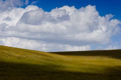 Beatiful Clouds. A perfect natural daylight and wonderful clouds Stock Photos