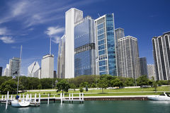 Beatiful day in Chicago Stock Photography