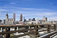 Beatiful day in Cleveland Royalty Free Stock Photo