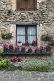 Beatiful facade. In beget village, catalonia Royalty Free Stock Image