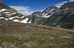 Beatiful Glacier National Park Royalty Free Stock Image