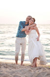 Beatiful married couple Royalty Free Stock Image