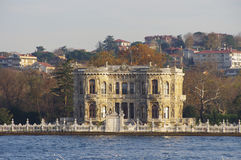 Beatiful palace in Istanbul Royalty Free Stock Image