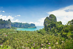 Beatiful Railay bay Royalty Free Stock Photography
