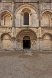 Beatiful romanesque facade Royalty Free Stock Photography