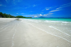 Beatiful sand of beach sea. Royalty Free Stock Photo