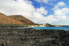 The beatiful shoreline of the Galapagos Islands Royalty Free Stock Photography