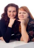 Beatiful sisterhood Stock Image
