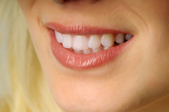 Beatiful smile Royalty Free Stock Photos