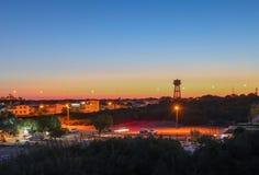 Beatiful sunset. Colored sunset in Tirkey stock photo