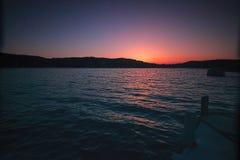 Beatiful Sunset at Sea. Sunset at sea, Brno, Czech Republic stock images