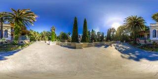 Beatiful view of arboretum and Nature. Dendrarium stock images