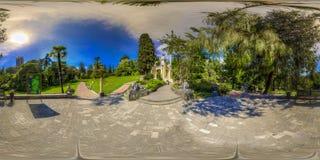 Beatiful view of arboretum and Nature. Dendrarium royalty free stock photos