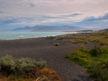 Beatiful view of Kaikoura coast Royalty Free Stock Photo