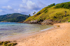 Beatiful View of Yanui Beach nearby Promthep cape, the most beau Royalty Free Stock Photos