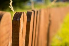 A beatiful vintage fence stock photo