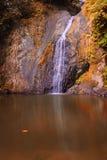 Beatiful Waterfall in Autumn Royalty Free Stock Photography