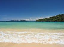 Tunku Abdul Rahman National Park, Borneo, Malaysia - Sapi Island view royalty free stock image