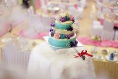Beatiful wedding cake for wedding ceremony Royalty Free Stock Images