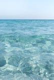 Beatifull sea water at Sardinia coast, Italy. Royalty Free Stock Photos