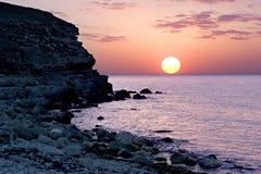 Beatifull Sunset Royalty Free Stock Photos