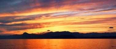 Beatifull Sunset Royalty Free Stock Photography