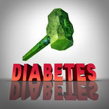 Beating Diabetes Royalty Free Stock Photography