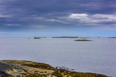 Beatitudine scandinava dell'oceano Fotografia Stock