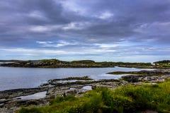 Beatitudine scandinava dell'oceano Fotografie Stock Libere da Diritti