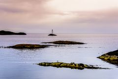 Beatitudine scandinava dell'oceano Fotografia Stock Libera da Diritti