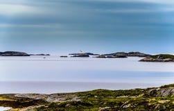 Beatitudine scandinava dell'oceano Fotografie Stock