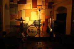 Beatles故事,被打开从1990年5月 库存图片