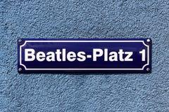 Beatles普拉茨 免版税库存图片