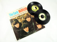 Beatles纪录 免版税库存照片